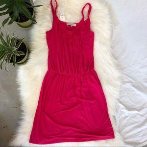 LOFT | Hot Pink Dress Small NEW